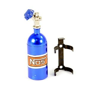 Fastrax Aluminum Nos Nitrous Bottle and Mount - Blue FAST2204B