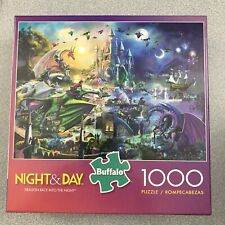 Buffalo Games Night & Day (Dragon Race Into The Night) 1000 Pc Puzzle