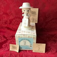 """Precious Moments 1984 """"E-0005"""" """"Seek And You Shall Find"""" New In Box"""