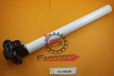 F3-1100336 CANOTTO Sella mm 25,4 X 300 Alluminio Bianco Bicicletta Bike CITY
