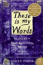 """Nancy Turner """"THESE IS MY WORDS"""" - Very Nice Softcover"""