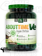 SDC NUTRITION - ABOUT TIME VE 2Lbs CHOCOLATE - VEGAN PROTEIN FORMULA