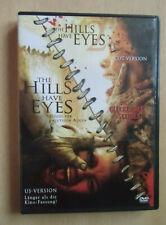 2 DVD's The Hills have Eyes 1 +2 Hügel d.blutigen Augen US + Cut Version FSK 18
