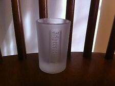 Frosted glass embossed Jagermeister Shot Bar Brand New Saloon Club Party 1 Oz