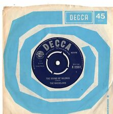 """Bachelors - The Sound Of Silence / Love Me With All Your Heart 7"""" Single 1966"""