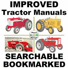 IH International Case 600 650 Tractor REPAIR SERVICE SHOP MANUAL - SEARCHABLE CD