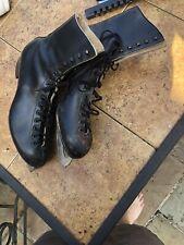 Mens Adult Size 11 American Figure Ice Skates. Black