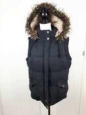 Ladies Hudson & Rose Fleece Lined Padded Gillet Size 16