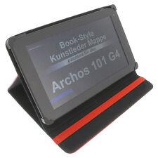 Sac pour Archos 101 G4 Style Livre Tablette Étui de Protection Support de Table
