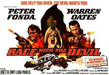 16mm Feature Film: RACE WITH THE DEVIL (1975) Peter Fonda - HORROR THRILLER