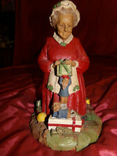 1987 Cairn Tom Clark Christmas Sculpture #26 Mrs Claus Ii Signed By Clark