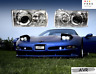 Fit For Chevy Corvette C5 97 04 Headlight Set Lamps Clear INCLUDE CONNECTORS