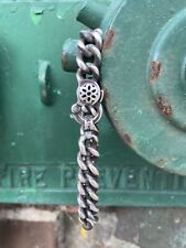 """Good Art Hlywd #6 Curb Chain  8.5"""" Sterling"""