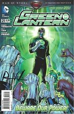 signed GREEN LANTERN #21 1st print 1st appearance RELIC DC NEW 52 ROB VENDITTI