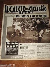 IL CALCIO E CICLISMO ILLUSTRATO 1959/3=BARI NAPOLI=MAGNANINI=