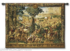 """Hunt Of Maximilian Wall Tapestry 53"""" x 40""""  Medieval  Art  Netherlands Europe"""