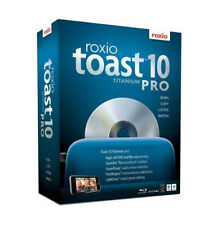 Roxio Toast 10 Titanium for Mac - Burn, watch, listen and share