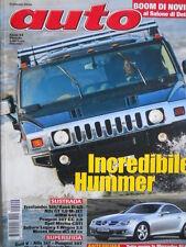 AUTO n°2 2004 - Incredibile Hummer - Golf V Alfa 147 Peugeot 307  [Q199A]
