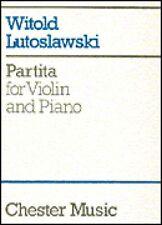 Partita for Violin and Piano NEW 014019668