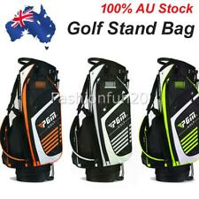 Golf Stand Cart Bag 14-Way Dividers Double Shoulder Straps Organised Easy Carry