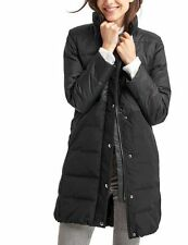 Gap NWT True Black Long Down Puffer Coat Jacket XS SOLD OUT