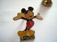PINS MICKEY LORUS MARQUE DE MONTRE