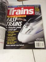 Trains Magazine Vintage Railway history April 2011 CRH3