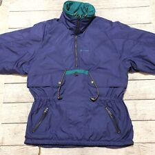 Sun Ice Vintage  Mens Size 12 Ski Jacket Insulated Coat Purple Pull Over