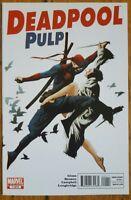 Deadpool Pulp #1 Benson Glass Marvel Comics 2010 F/VF 1st Print