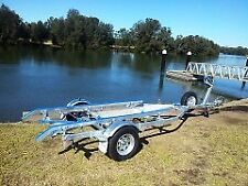 Boat trailer AL4.8M13B / fits boats from 3.7 up to 4.9