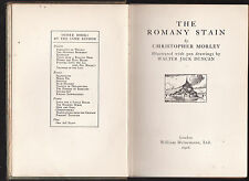 CHRISTOPHER MORLEY - THE ROMANY STAIN  vintage 1926  United States Europe