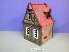 (O3440.2) playmobil Maison Médiévale verte le Tailleur ref 3440 3666