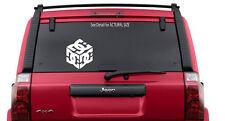 DC SHOE CUBE Sticker Decal Vinyl JDM Euro Stance Lowered Plus Music Car Truck