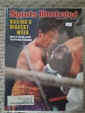 Sports Illustrated Sept 26, 1977 Roberto Duran Boxing