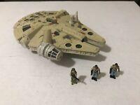1997 Star Wars Micro Machines Action Fleet Millenium Falcon w Lando