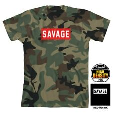 NEW Savage Camo Tee Short Sleeve Shirt for Boys Size Large 10/12 T-Shirt