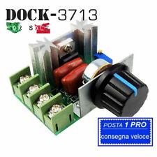 A22. Regolatore di velocità motore tensione regolabile PWM 2000w 50v-220v dimmer