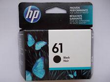 Genuine HP 61 black ink cartridges(CH561WN) Exp. 2019