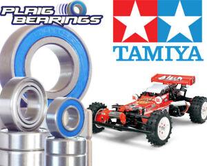 Tamiya Hotshot Buggy Bearing Kit 22 Pack suits Boomerang - Blue rubber sealed