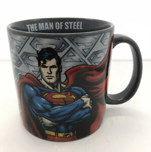 "Superman ""The Man Of Steel"" DC Comics 20 oz Large Coffee Mug."