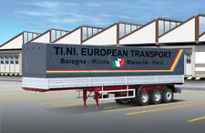 Classic Canvas Truck Trailer - Rimorchio Camion Plastic Kit 1:24 Model 3908
