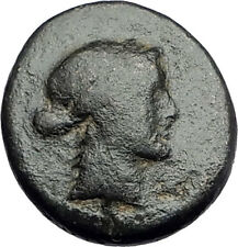 SARDES in Lydia 133BC Authentic Ancient Greek Coin APOLLO & HERCULES CLUB i62037