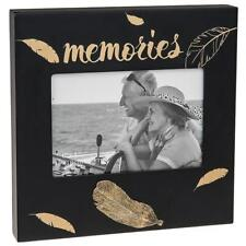 Memories Photo Picture Gold Feather Design 4 x 6 271423