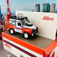 Schuco 1/64 Land Rover Defender Hong Kong Police EOD Bureau (Toyeast Limited Edi