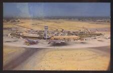 Postcard PHOENIX Arizona/AZ  Sky Harbor Airport Bird's Eye Aerial view 1950's