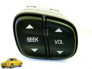 Steering Wheel Radio Stereo Volume Seek Control Switch Buick Chevy GMC Cad SSR