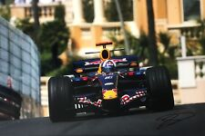 David Coulthard Firmato a Mano RED BULL RACING 18x12 foto 3.