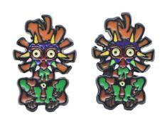 The Legend of Zelda Majora's Mask Metal Enamel Stud Earrings