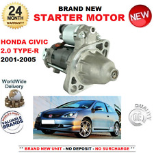 PARA Honda Civic 2.0 Type R 200bhp Motor De Arranque 2001-2005 EU EP EV NUEVO