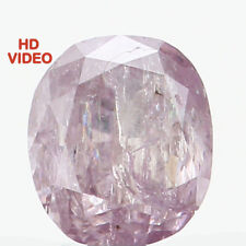 Natural Loose Diamond Cushion Purple Pink Color I2 Clarity 3.50 MM 0.17 CT N7105
